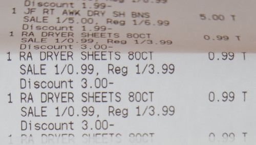 Commonly Used Supermarket Receipt Font_Receipt Font, Real Invoice